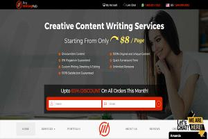Portfolio for SEO copywriting